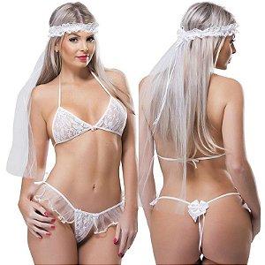 KIt Fantasia Desejos Noiva SexyFantasy - Sex shop