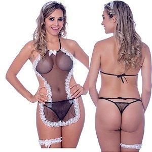 Kit Fantasia Doméstica Sensual Love - Sexshop