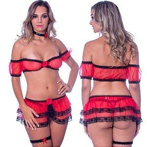 Kit Fantasia Espanhola Sensual Love - Sexshop