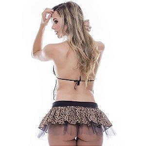 Kit Fantasia Pedrita Saia Sensual Love - Sexshop