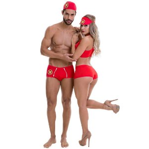 Kit Fantasia Salva Vidas Amanda Sapeka - Sex shop