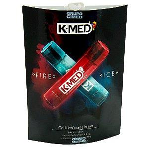 Kit Fire ice Lubrificante Íntimo 80g CIMED - Sex shop