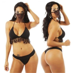 Kit Mini Fantasia Bandida Pimenta Sexy - Sex shop
