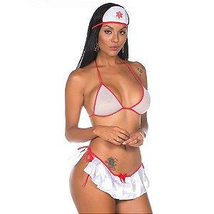 Kit Mini Fantasia Enfermeira Pimenta Sexy - Sex shop