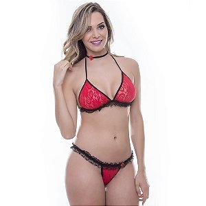 Kit Mini Fantasia Espanhola Sensual Love - Sexshop