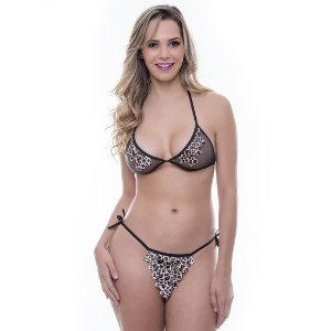 Kit Mini Fantasia Pedrita Sensual Love - Sexshop