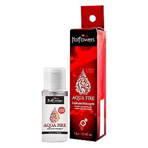 Lubrificante Aqua Fire Spray 12ml Hot Flowers - Sexshop