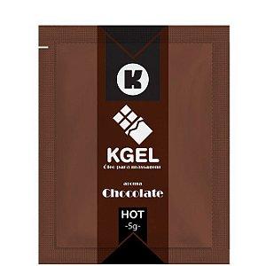 Lubrificante Chocolate 5ml Kgel em Sache - Sexshop