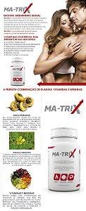 MA-TRIX - Maca Peruana e Tribulus - Máximo desempenho sexual - Sexshop