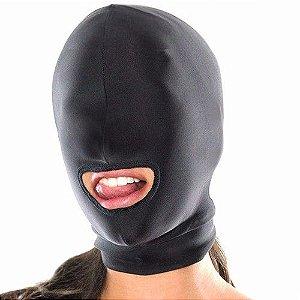 Mascara para Fetiche com abertura na boca - Sexshop