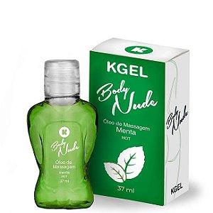 Óleo de Massagem Body Nudes Kgel Hot Menta 37ml - Sexshop