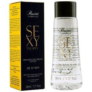 Óleo Massagem Sensual Hot Sexy Terapia 35ml Pessini - Sexshop