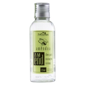 Óleo Mineral para Massagem AMEND 120ML HOTFLOWERS - Sex shop
