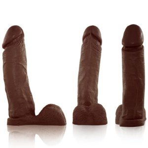 Pênis Real Peter Marrom Boss - 4,5 x 19cm - Sexshop