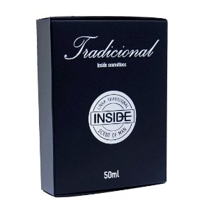 Perfume Masculino Black 50ML INSIDE - Sex shop