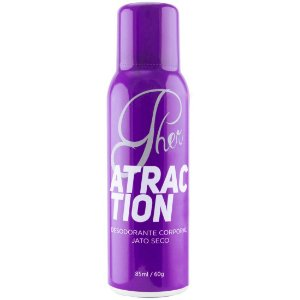 Pher Perfume Aerossol Feromônio ATRACTION 85ML Soft Love - Sex shop