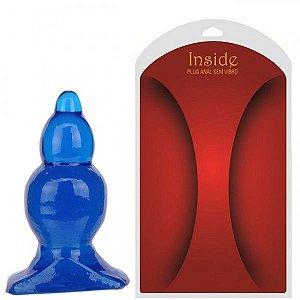 Plug anal de penetração Gradual Azul - Sexshop