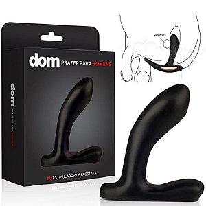 Plug Masculino Estimulador de Próstata - DOM - P11 - Sex shop