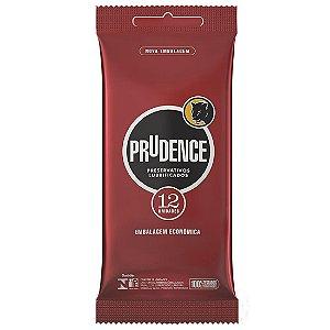 Preservativo Lubrificado com 12 unidades Prudence - Sex shop