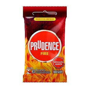Preservativo Prudence Fire 3 Unidades - Sexshop