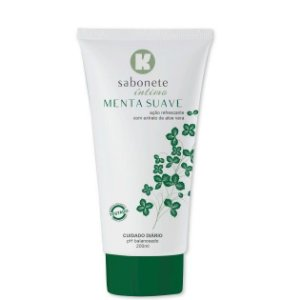 Sabonete Íntimo Kgel Menta 200ml - Sex shop