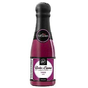 Sabonete Líquido Banho & Espuma 150ml Vinho Hot Flowers - Sex shop