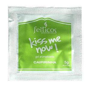 Sachê Gel Comestível HOT Kiss me Now 5gr Caipirinha - Sexshop