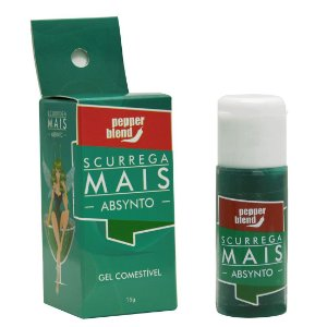 Scurrega Mais Gel comestível ABSYNTO 15g Pepper Blend - Sex shop