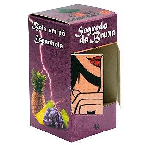 Sexo Oral Segredo da Bruxa Bala em Pó 4g Loka Sensação ESPANHOLA - Sex shop