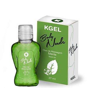 KIT 03 Óleo de Massagem Body Nudes Kgel Ice menta 37ml