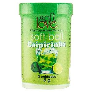SoftBall Bolinha Caipirinha Drink 2 unidades SoftLove - Sexshop
