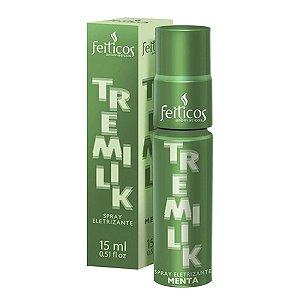 Spray Eletrizante Beijável Tremilik Sabor Menta 15ml Feitiços Aromaticos - Sexshop