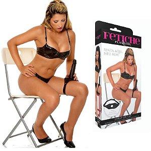Strap On Lap - Suporte de coxa para pênis realístico - Sexshop