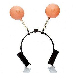 Tiara em formato de seios - Sexshop