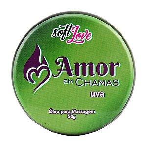 Vela Amor Em Chamas Beijavel 50G Soft Love