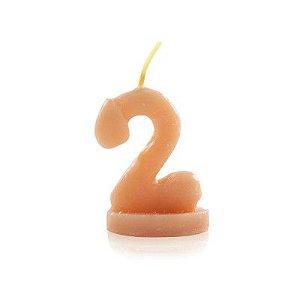 Vela Nº2 para brincadeiras no formato de Pênis - Sexshop