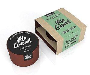 Vela para massagem erótica Gourmet - Chocolate Belga 40g - Sex shop