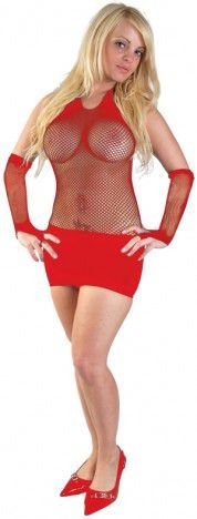 Vestido Samanta Vermelho - Sex Shop