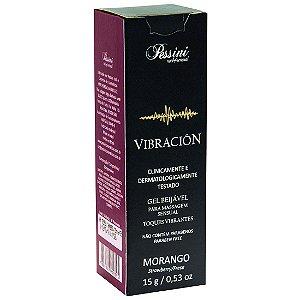 Vibracion Toques Vibrantes Aromáticos 15g Pessini Morango - Sex shop