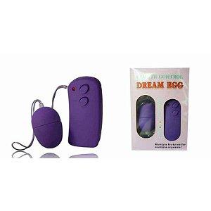 Vibrador Bullet Wireless com 10 vibrações - Sexshop