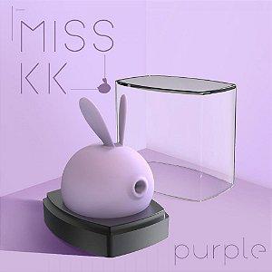 Vibrador Clitoriano e Sugador de Seios - Miss KK Kiss Toy