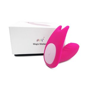 Vibrador e estimulador Clitoriano Eidolon - Magic Motion - Sex shop