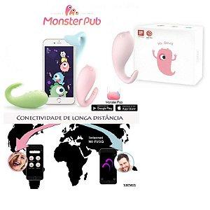 Vibrador MISTER DEVIL Controle Mundial com 8 Modos de Vibração - Sexy shop