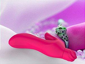 Vibrador Pongo G duplo em Silicone - Sexshop