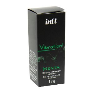 Vibration Gel Excitante Aromático 17g INTT Menta - Sex shop