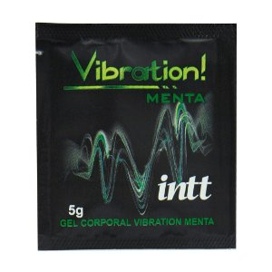 Vibration Gel Excitante Sachê 5g INTT - Sex shop