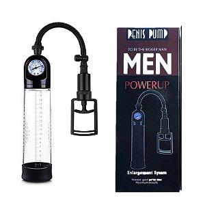 Bomba Peniana Manometro - Men Powerup - Penis Pump - Sexshop