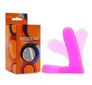 Anel Companheiro Rosa 11x3cm Articulado - Absoloo - Sexshop