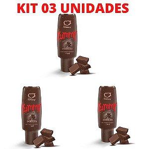 KIT 03 Gel Térmico Comestível YUMMY 15 ml Chocolate - Sexy Fantasy