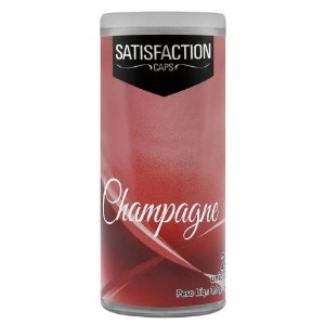 Bolinha Vaginal Excitante Satisfaction Champagne 2 Capsulas Perfumadas